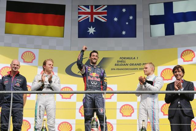 Formula One World Championship 2014, Round 12, Belgian Grand Prix