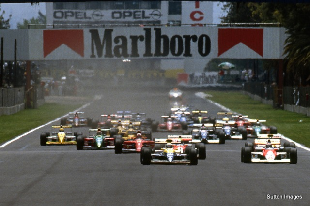 Formula One Championship, Mexican Grand Prix, Mexico City, 24 June 1990.