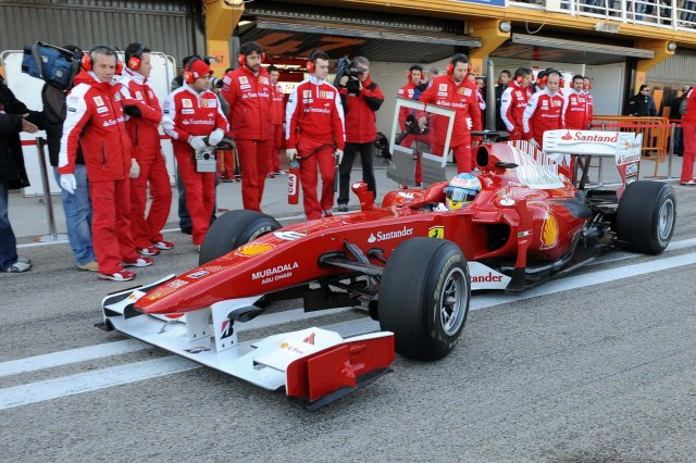 TEST F1 VALENCIA 01-03/02/2010