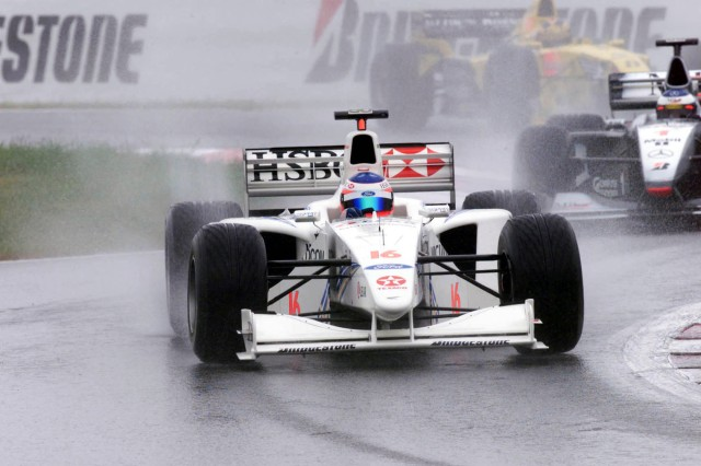 Rubens leads Hakkinen and Frentzen - French GP FFRGP99 FRDF1