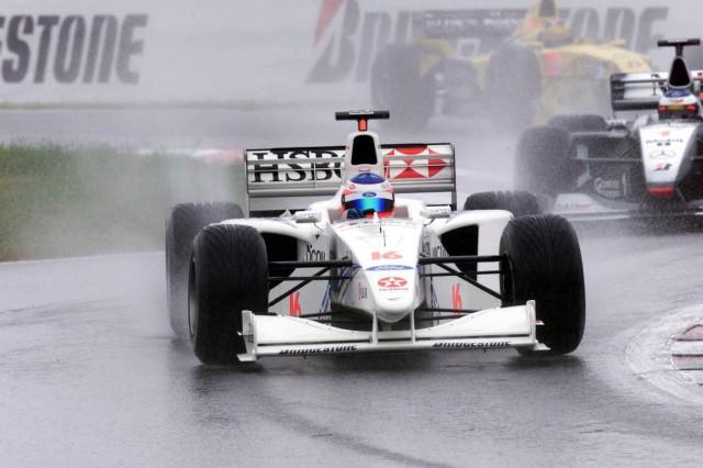 Rubens leads Hakkinen and Frentzen - French GP FFRGP99 FRDF1