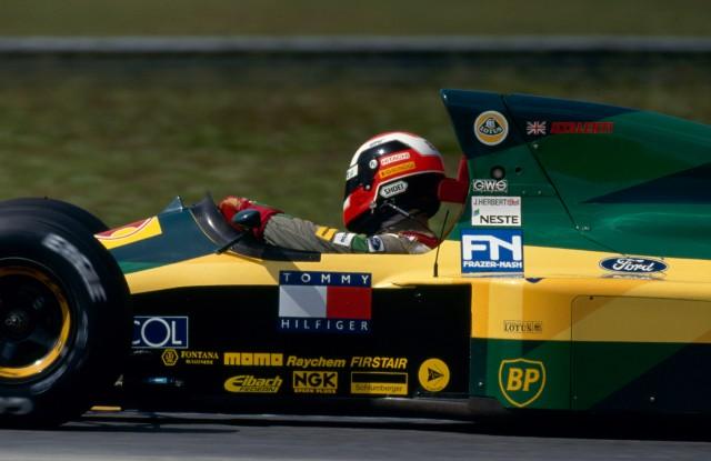 Johhny Herbert (GB), Team Lotus.. 1992 Formula One World Championship.