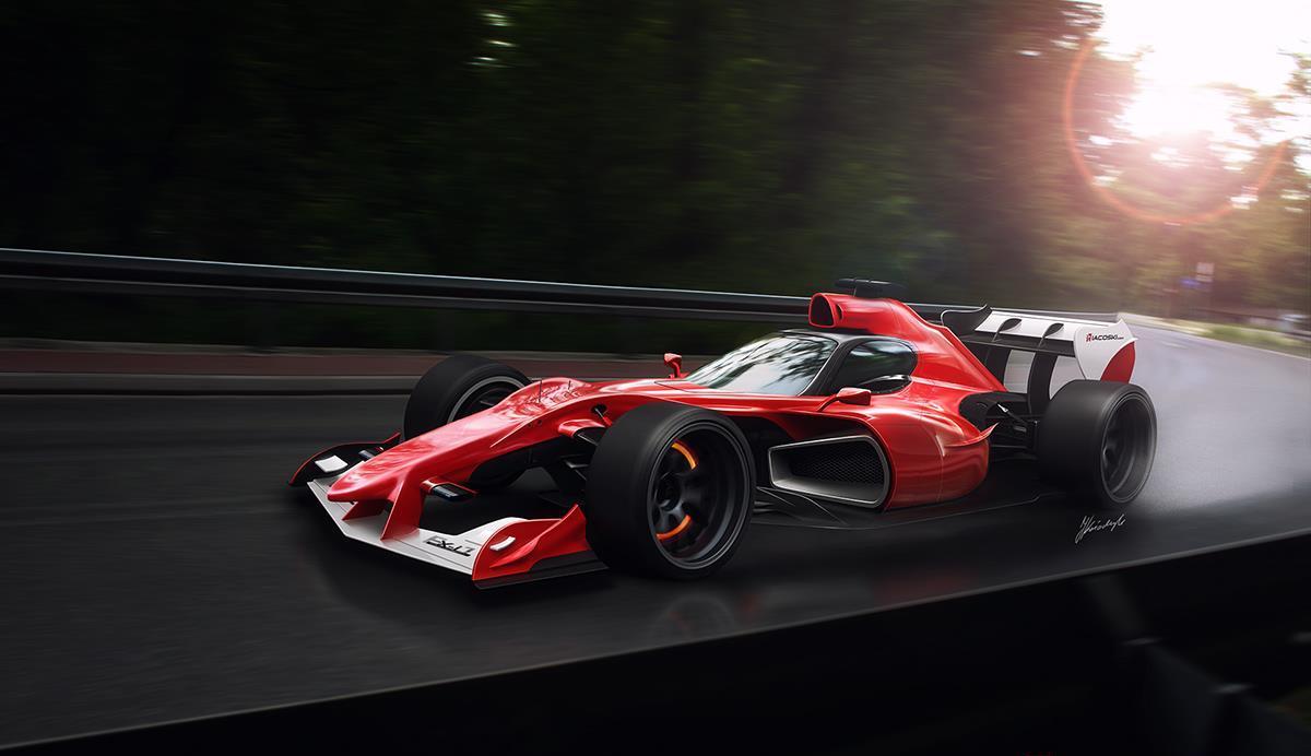 Os Carros da Formula 1 no futuro by joseinacio.com