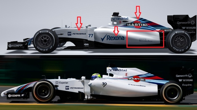 January 2015 The Williams FW37 Photo: Williams F1  ref: Digital Image FW37_1