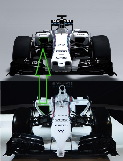 January 2015 The Williams FW37 Photo: Williams F1 ref: Digital Image FW37_3