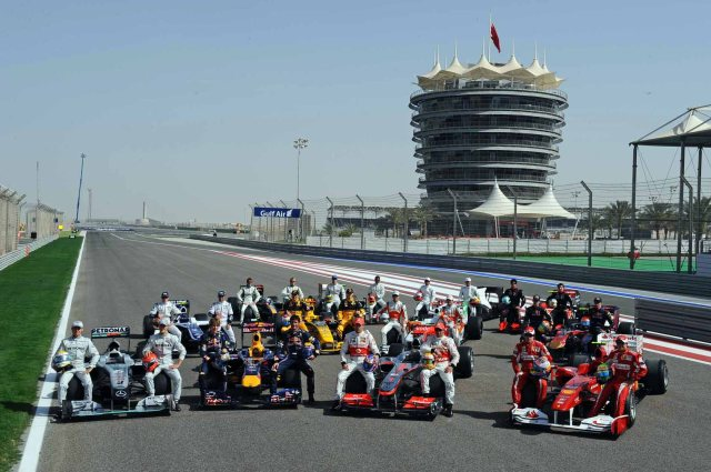 BAHRAIN GRAND PRIX F1/2010 -  SAKHIR 12/03/2010