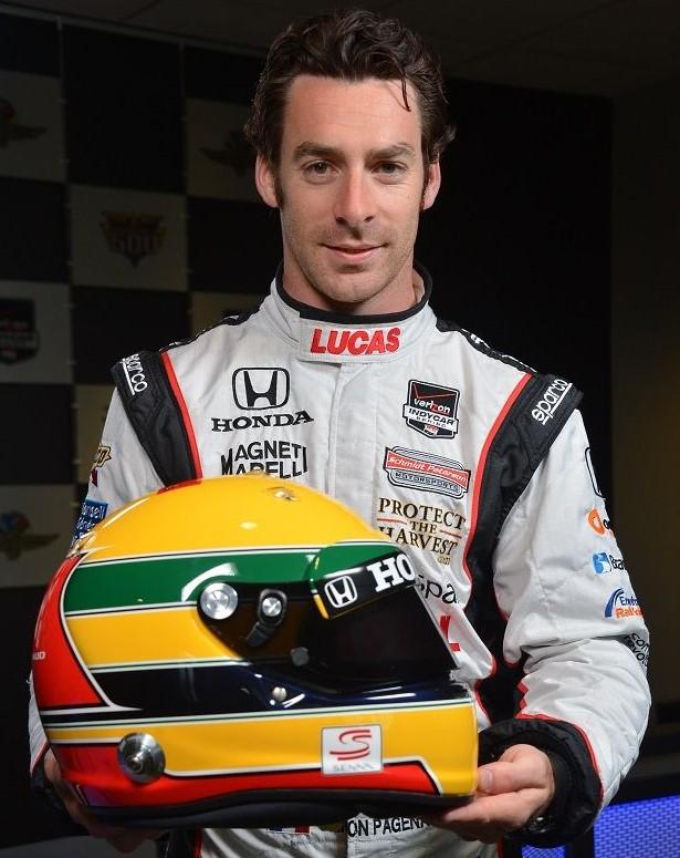 Simon Pagenaud, 2014 - Fórmula Indy